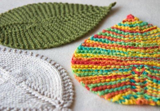Leaf Washcloths