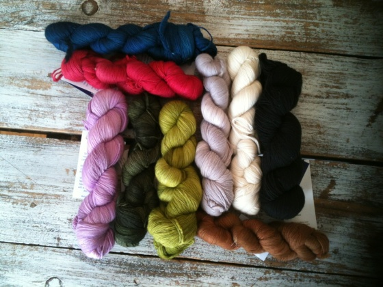 malabrigo lace colorways