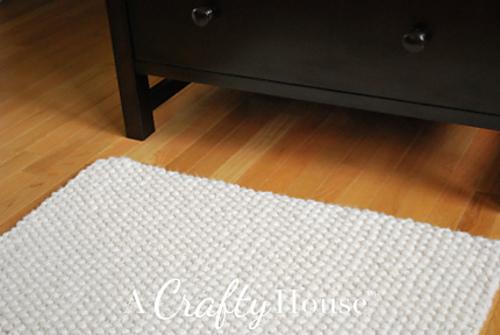 seed stitch rug 2
