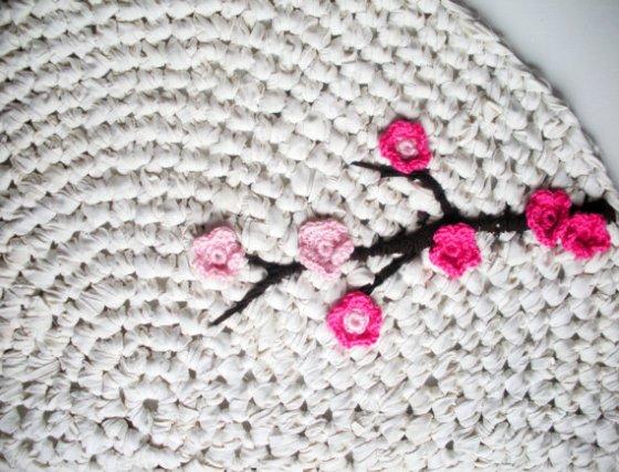 Cherry blossom applique