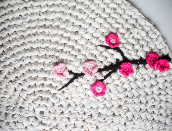 Cherry blossom applique