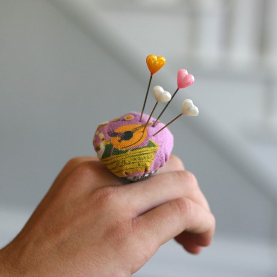 pin cushion ring